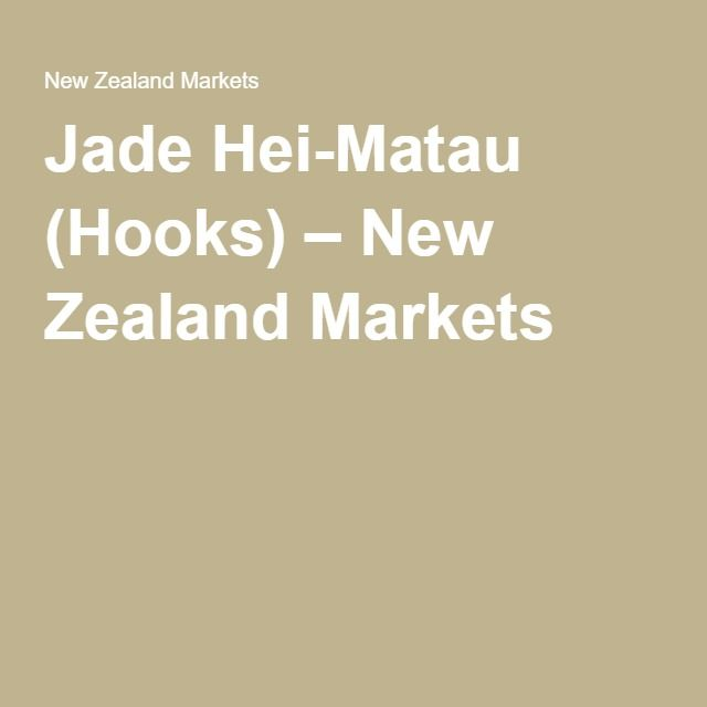 Jade Hei-Matau (Hooks) – New Zealand Markets