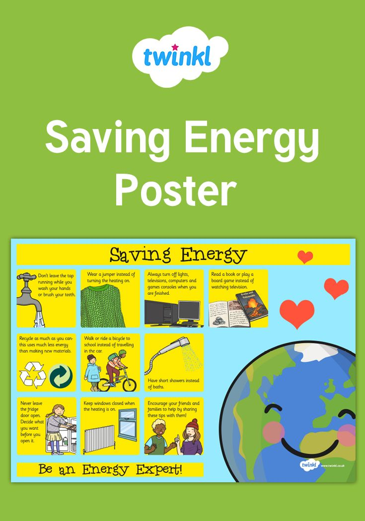 Display This Lovely Poster To Encourage Your Class To Save