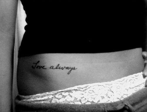 i like small tattoos