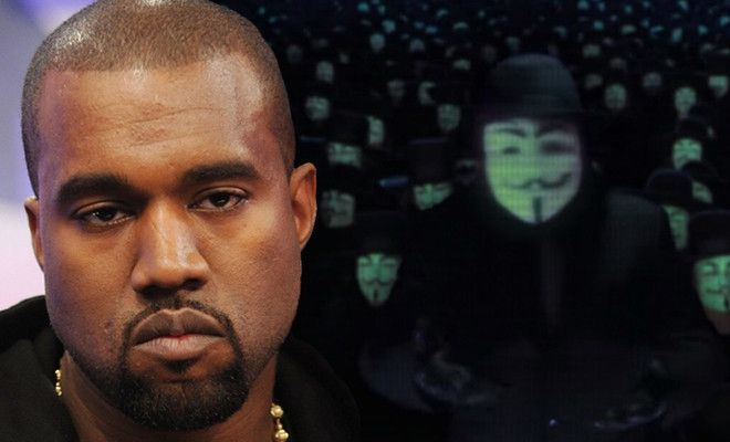 Anonymous Have Targeted Kanye West, Want To 'Teach Him A Lesson'