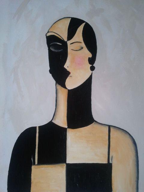Art Deco Inspired painting #artdeco