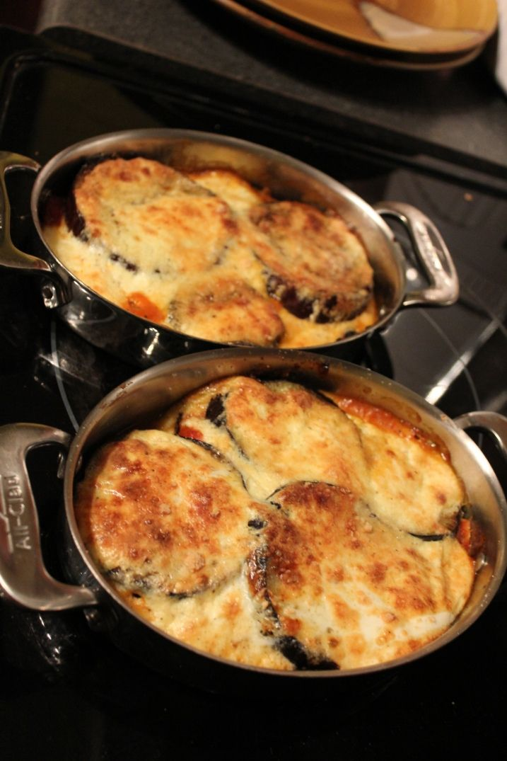eggplant gratin~ My tummy wants some right now. Wish I was a cook!