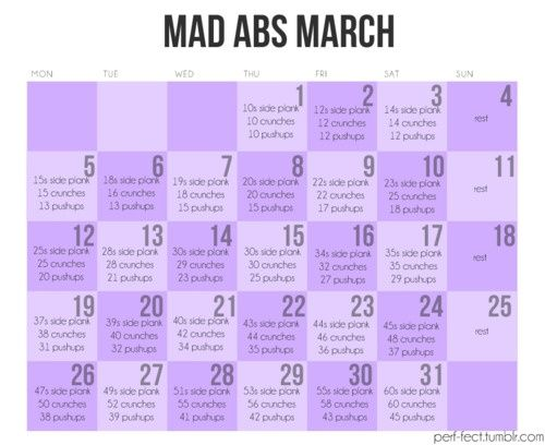 Ab workouts: Abs Challenges, Abs Workout, Six Packs Abs, Fitness, Workout Calendar, Work Outs, Mad Abs, Abs Marching, Weights Loss
