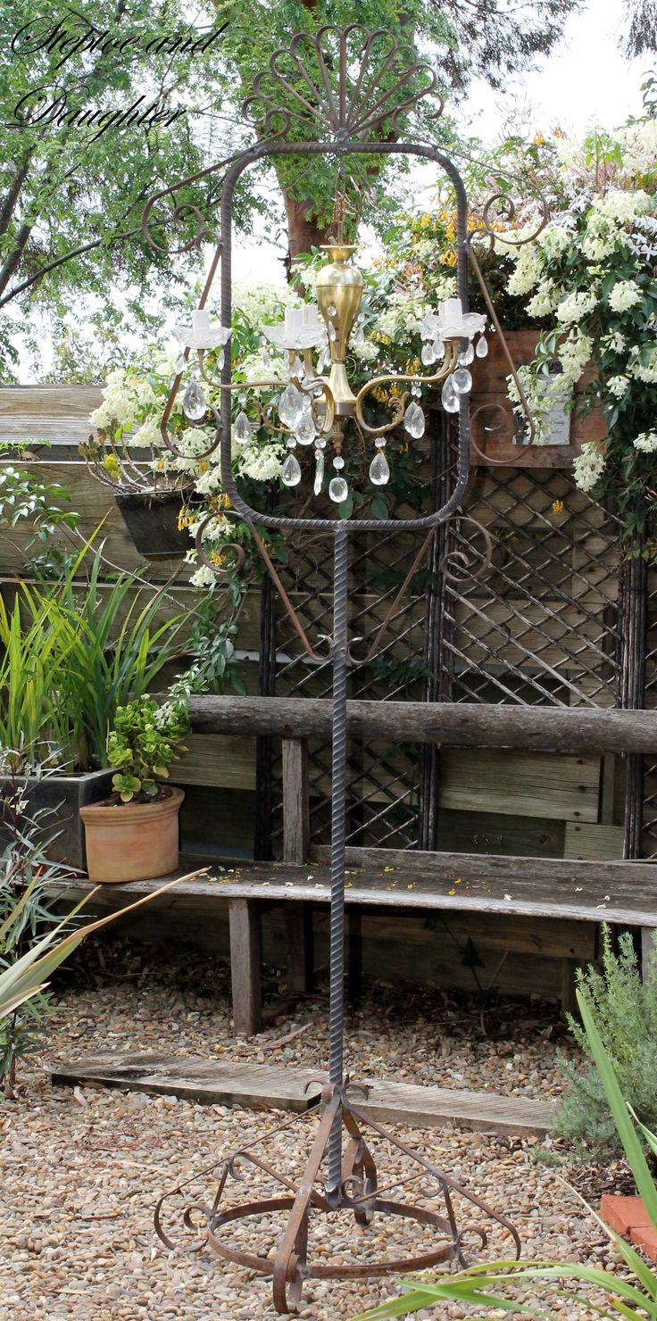 Handcrafted rustic stand