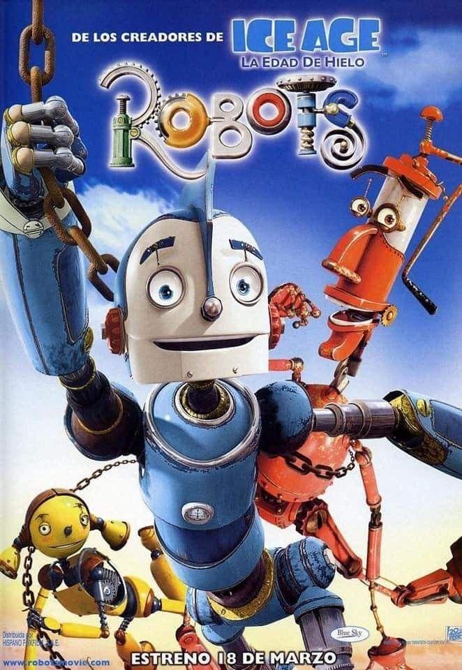 Robots En 2020 Peliculas Infantiles De Disney Peliculas Dibujos Animados Peliculas De Disney