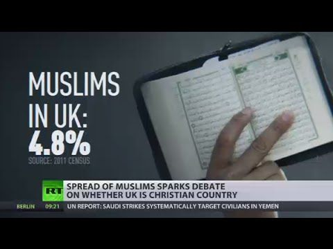Secular State? Spread of Islam puts tough question of what is main UK religion - #RTVideo http://youtu.be/AmboQUASHYU