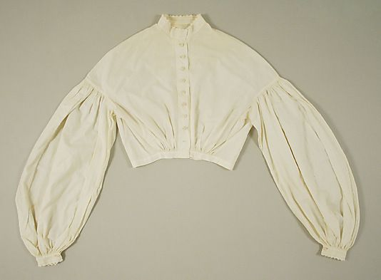 Bodice Date: 1860s Culture: American or European Medium: cotton