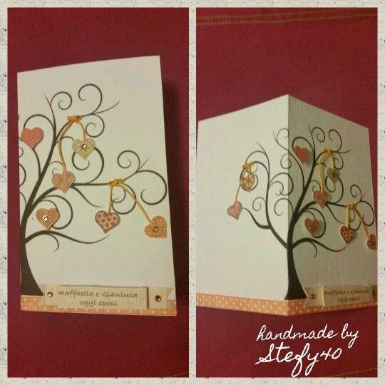 Wedding card - Wedding - card - biglietto di auguri per matrimonio