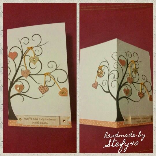 Wedding card - Wedding - card - biglietto di auguri per matrimonio