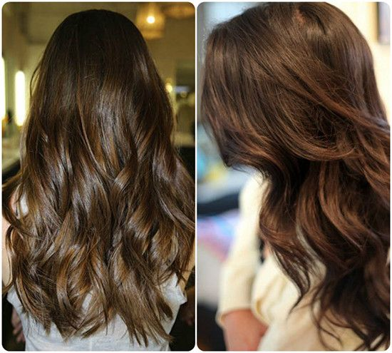 2014 Winter2015 Hairstyles And Hair Color Trends   Brown Hair Colors Choc