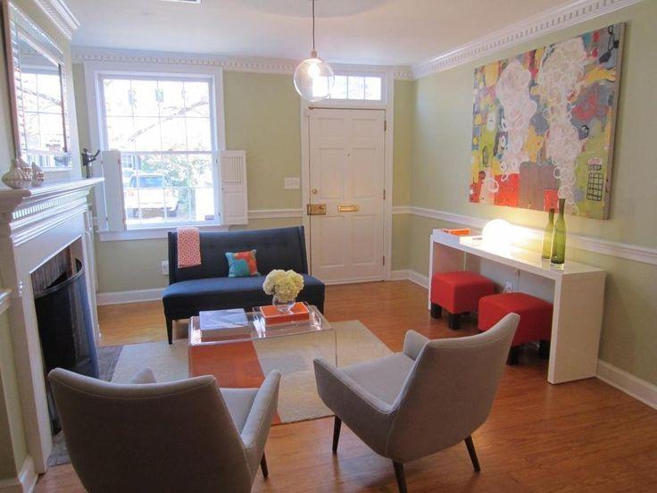 """Julie's """"Orange Ya Inspired?"""" Room — Room for Color 2011"""