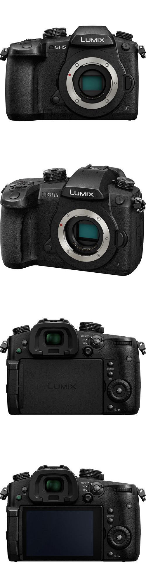 Camera Photo: Panasonic Lumix Dc-Gh5 Mirrorless Micro Four Thirds Digital Camera (Body Only) -> BUY IT NOW ONLY: $1731.45 on eBay!