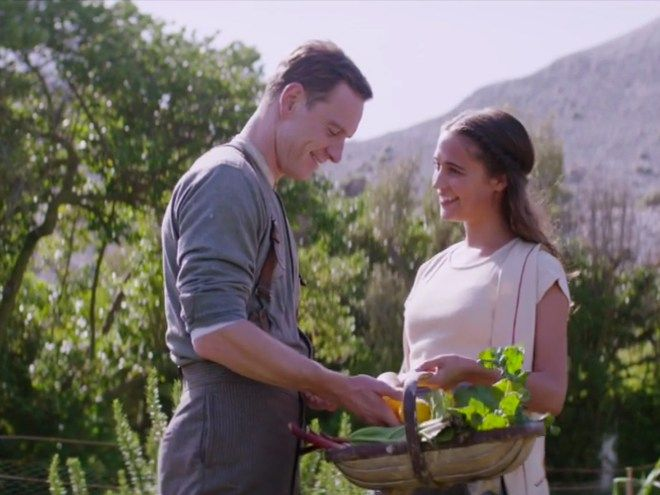 Watch Michael Fassbender Sweetly Serenade Girlfriend Alicia Vikander in Behind-the-Scenes Clip from The Light Between Oceans