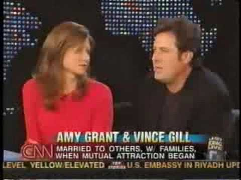 ♡♥Amy Grant with Vince Gill on the Larry King show - part 3♥♡