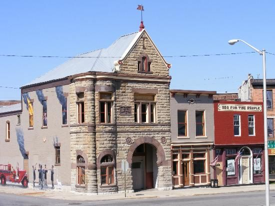 Firehouse BBQ & Blues (located in Richmond, Indiana's oldest surviving firehouse) | Shared by LION