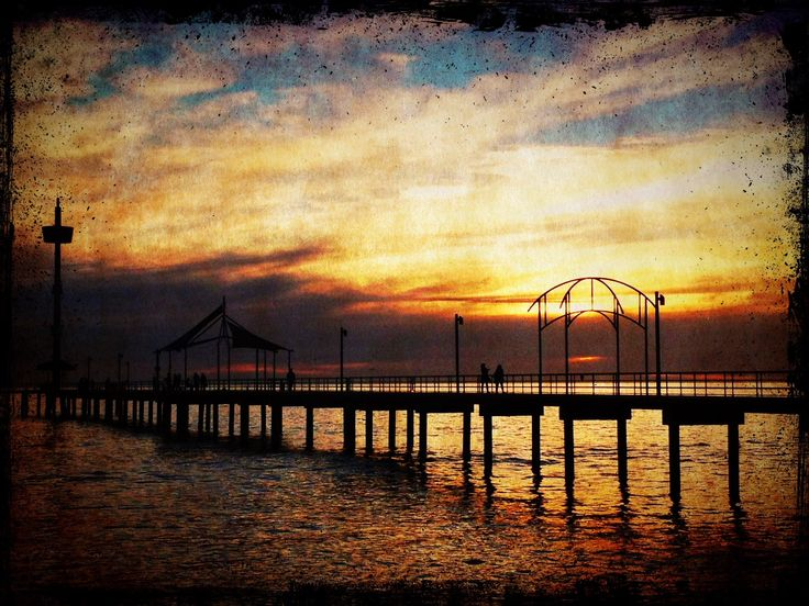 Brighton Jetty. Adelaide.
