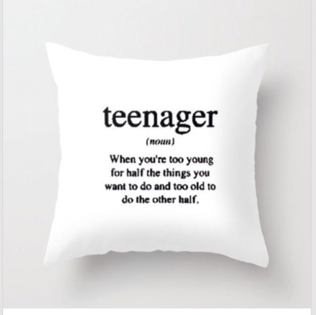 teen throw pillow                                                                                                                                                     More