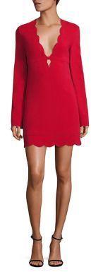 A.L.C. Scalloped Shift Dress. On sale Saks Fifth Avenue