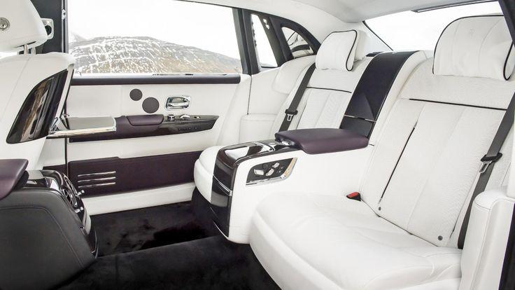 Rolls-Royce Phantom interior rear
