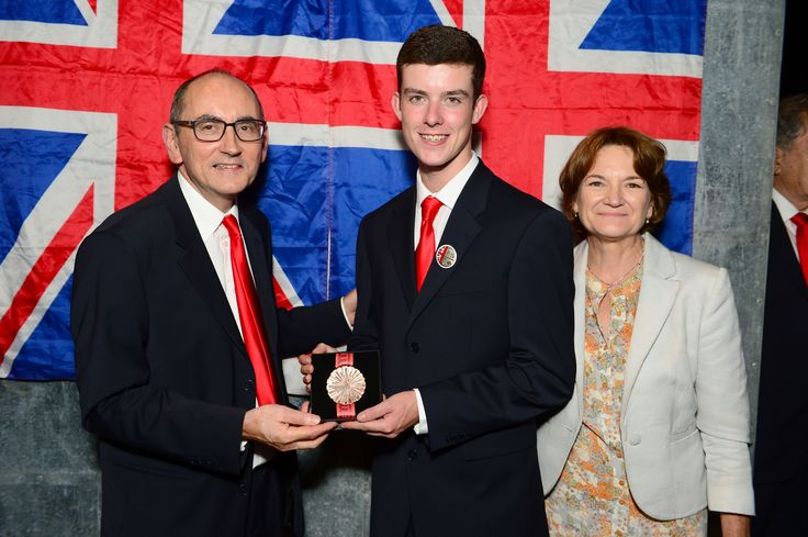 Dominic Trees - awarded the Medal of Excellence for the Manufacturing Team Challenge