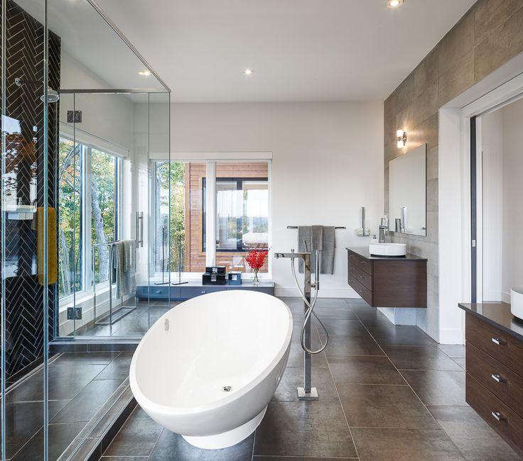 Master Bath With A Viewmodern Master Bath Designastro Design Beauteous Bathroom Design Centre Review