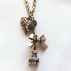 Collier coeur une romance à paris cadeau saint valentin