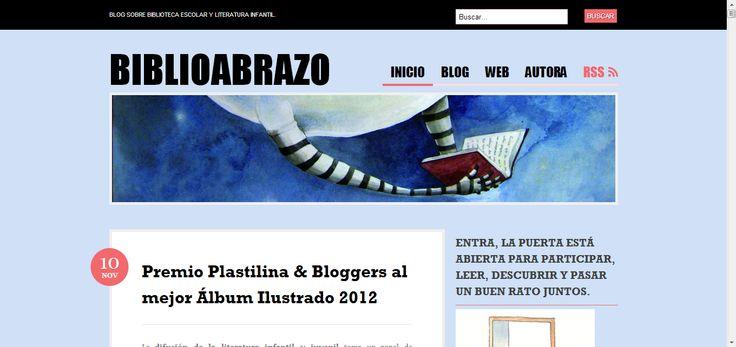 Biblioabrazo | Blog sobre biblioteca escolar y literatura infantil.