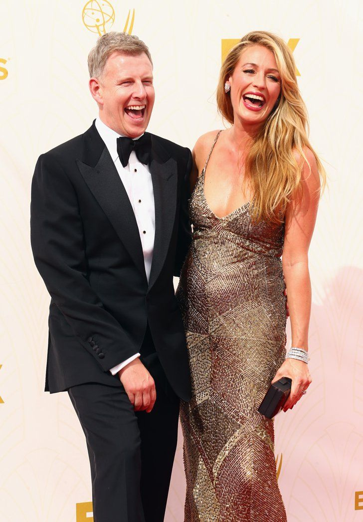 Pin for Later: Hollywood Couples Showed a Whole Lot of Love at the Emmy Awards Cat Deeley and Patrick Kielty