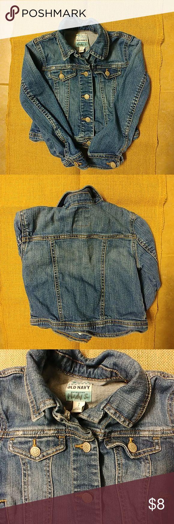 Girls' Old Navy Jean Jacket Gently Used Condition. Old Navy Jean Jacket. Size Small (Girls') Old Navy Jackets & Coats Jean Jackets