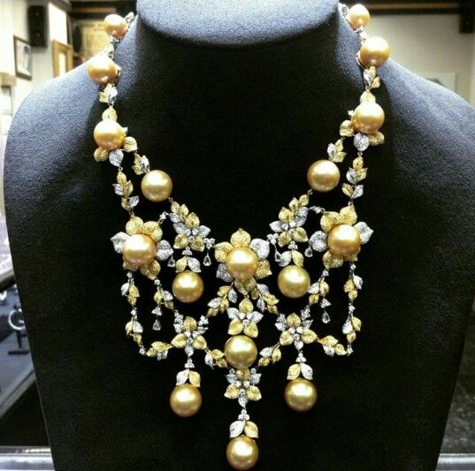 For the pearl girl ..with diamonds