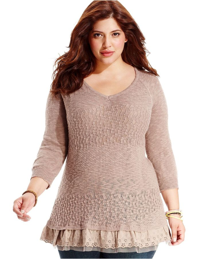 1000+ images about Fashion on Pinterest | Plus size sweaters ...