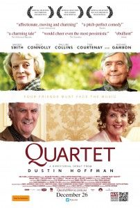 Maggie Smith, Tom Courtenay, Billy Connolly, and Pauline Collins.  Directed by Dustin Hoffmann