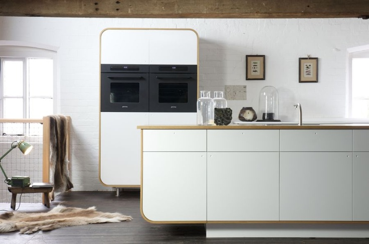 Air #Kitchen: designed by DeVOL using HI-MACS® #solidsurface.