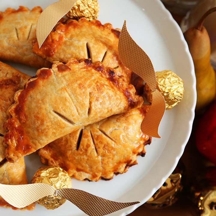 Harry Potter inspired Pumpkin Pasties!  Click through for 2 Harry Potter inspired recipes!