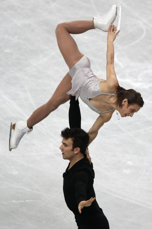 Duhamel & Radford- short program at Worlds