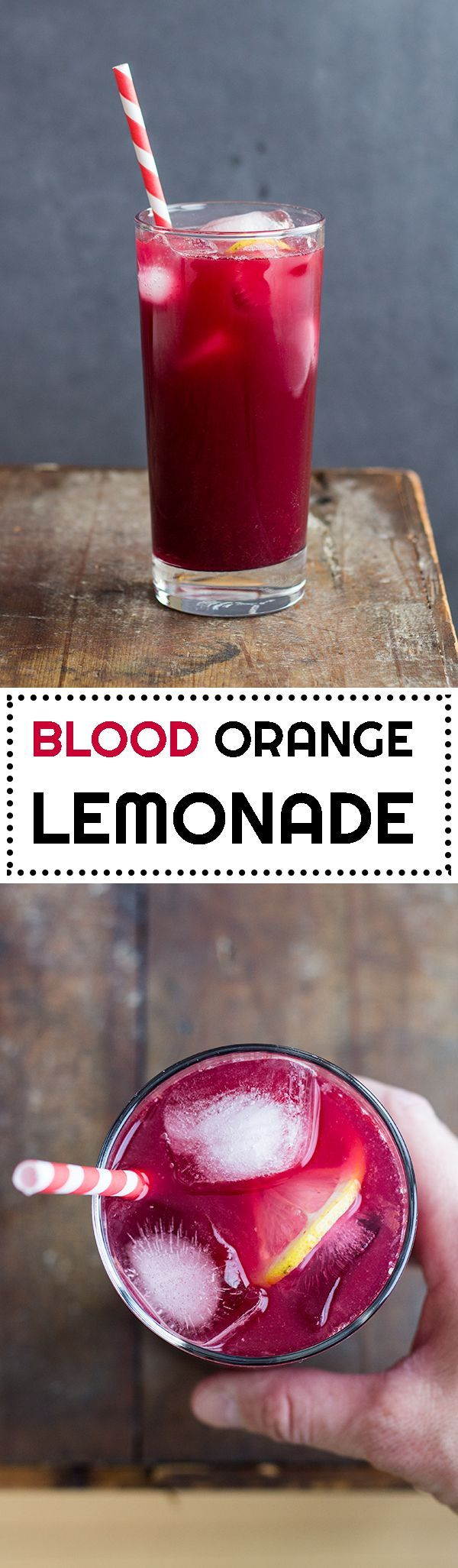 Enjoy an extra fancy healthy drink with one of the most amazing power fruits: Blood Orange Lemonade! Blood oranges are in season Dec-May only so hurry!