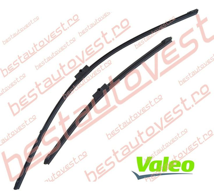 Stergatoare parbriz  Ford Focus 2, Peugeot 207 - Set - Valeo