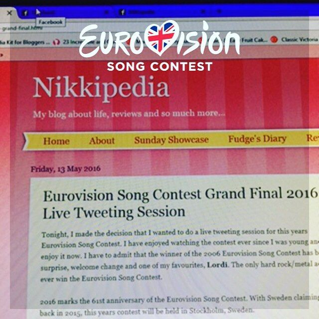 Nikkipedia: Tomorrow night I'll be live tweeting throughout the Eurovision Song Contest Final. Join me on Twitter @nikkipedia87. #eurovision2016 #eurovisionsongcontest #europe #twitter #livetweeting #nikkipedia