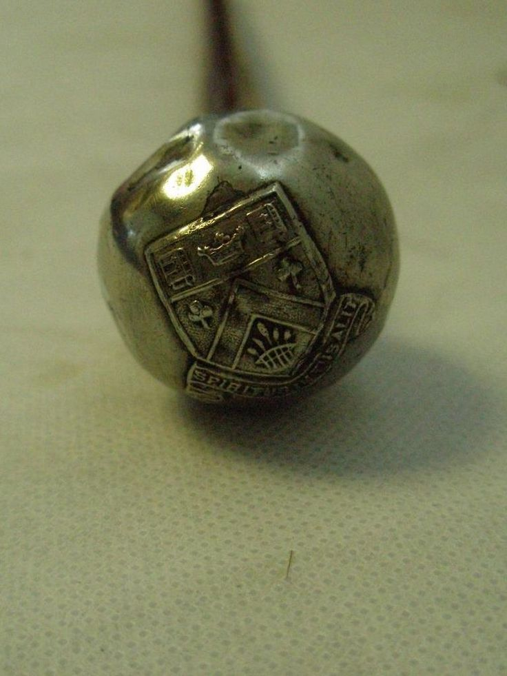 Vintage  Clifton College  military swagger stick