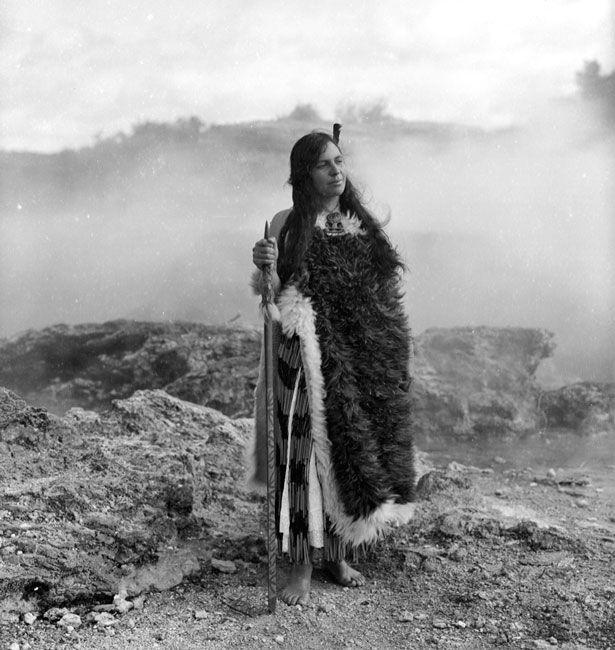 WAPF - Wellington NZ Makereti Papakura - Rotorua, New Zealand - 1910