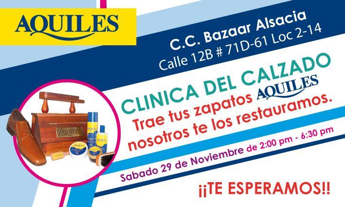 Clinica del Calzado @CalzadoAquiles #C.C.BazaarAlsacia