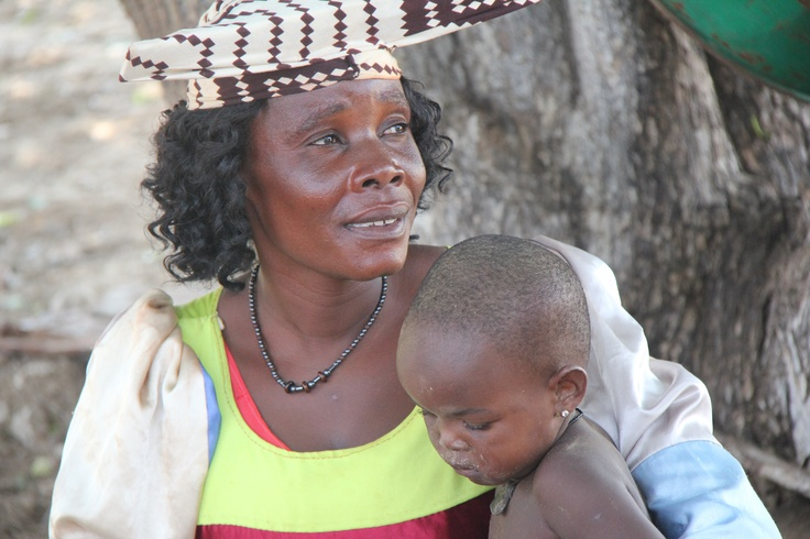 Herrero Mother and Child, Namibia, March 2011