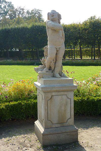 """Deutsch: Skulptur """"Choleriker der """"Vier Temperamente"""