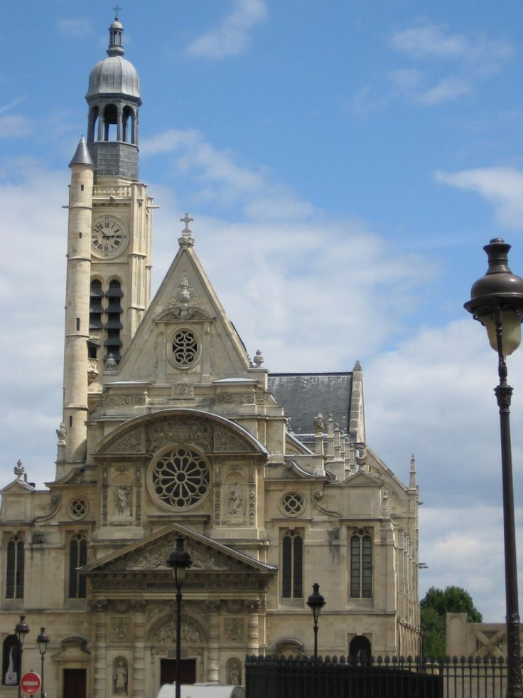 The Abbey of St Genevieve, Paris