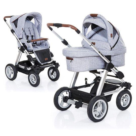 ABC Design - Kombi-Kinderwagen Viper 4 Style - Graphite Grey - Babyartikel.de
