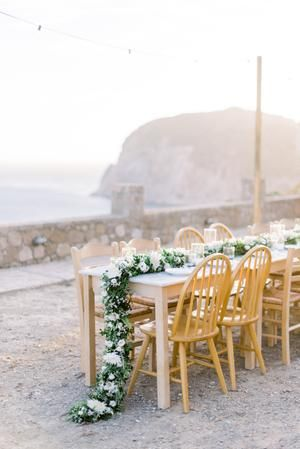 Outdoor Greece Oceanside Wedding on Milos Island | Summer