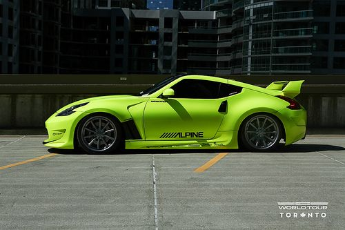 Nissan 370z,Vossen VVS-CV1s - Matte graphite w/Gloss Graphite Lip F: 20x9 / R: 20x10.5