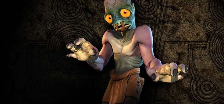 """We're playing the original 1997 version but head over to www.oddworld.com for news and details of a """"New & Tasty"""" reworking of this platform classic #letsplay"""