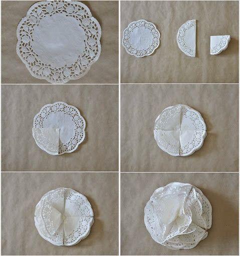 Decora tu fiesta de comunión con blondas de papel » Todo Primera Comunión