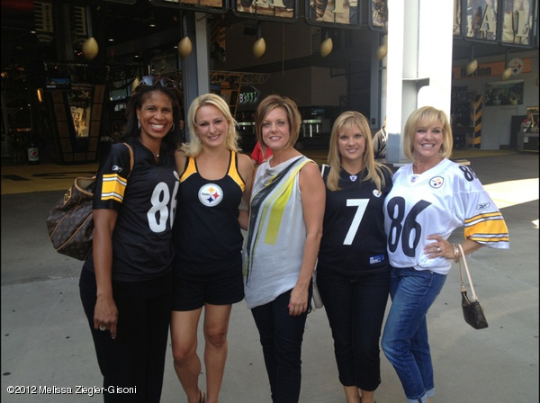 STAREE Melissa Ziegler-Gisoni: The #dancemoms support Pittsburgh Steelers!!! We love you guys!